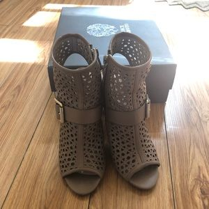 Vince camuto open toe bootie